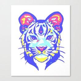 Tigris Psyche Canvas Print