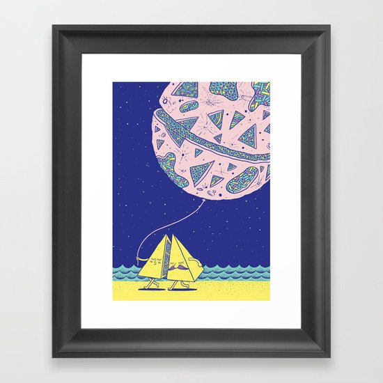 Better Half B Framed Art Print