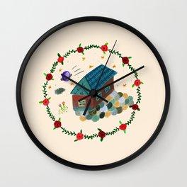 Their House Ver.2 Wall Clock
