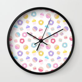 Must Love Sprinkles Wall Clock