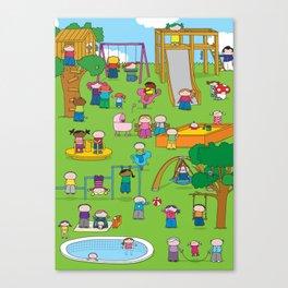 Playground  XL Canvas Print