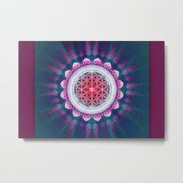 Flower Of Live - It Is Dawn Metal Print