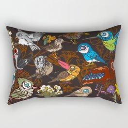CA 12 BIRDS (CA鳥風月) Rectangular Pillow