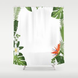 Nature flower 4 Shower Curtain