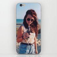 coca cola iPhone & iPod Skins featuring coca cola by Millie Clinton