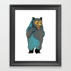 Mr.Grizzly Framed Art Print