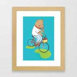 Berlin Summer Ride Framed Art Print