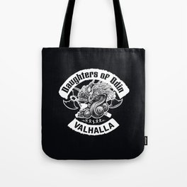 Daughters of Odin viking women - Sons of Odin parody Viking Norse Mythology for Shield Maiden Valkyr Tote Bag