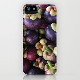 Mangosteen Pile iPhone Case