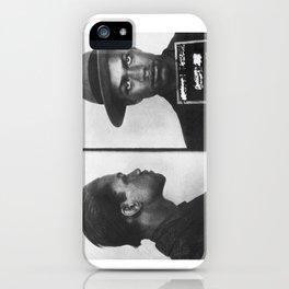Malcolm X Mugshot iPhone Case