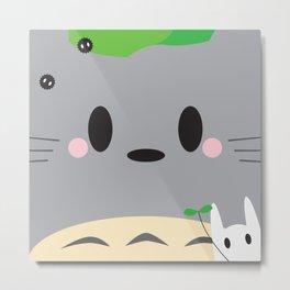 To-toro Block Metal Print