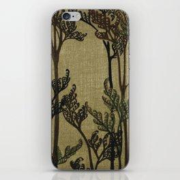 Vintage Curled Leaf iPhone Skin