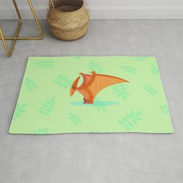 Pterodactyl, Actually Just a Flying Reptile Rug
