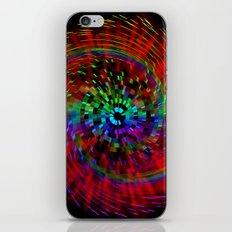 Rainbow Drain iPhone & iPod Skin