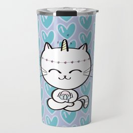 Lily Unicorn Kitty Travel Mug