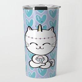 Lily Unicorn Kitty Travel Mug
