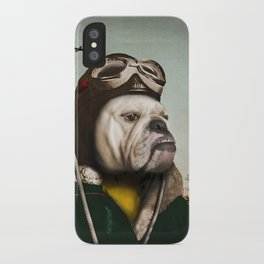 "Wing Commander, Benton ""Bulldog"" Bailey of the RAF iPhone Case"
