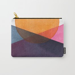 Abstract Watercolor sunset Carry-All Pouch