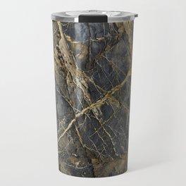 Natural Geological Pattern Rock Texture Travel Mug