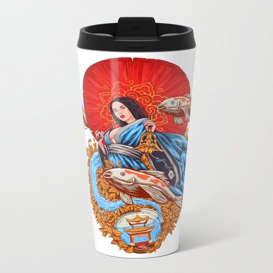 a koi dream Metal Travel Mug