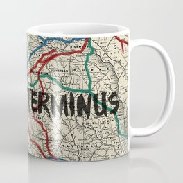 Terminus Map Coffee Mug