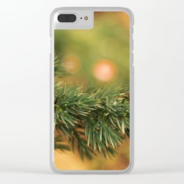 Christmas Pine - Holidaze Clear iPhone Case
