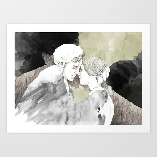 Jane Eyre Editorial #1 Art Print