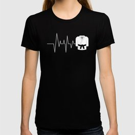 Heart BJJ Gifts Taekwondo Gifts Funny Karate Gifts T-shirt