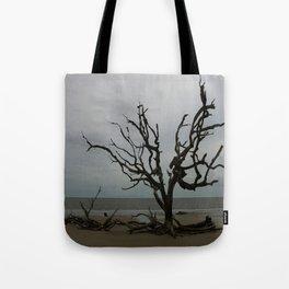 Ghost Tree Beach Tote Bag