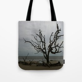 Ghost Tree Beach Tote Bag