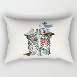 Anatomy 101 - The Thorax Rectangular Pillow