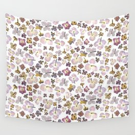 Scattered Hydrangea Wall Tapestry