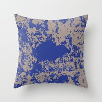 jay fleck Throw Pillows featuring mauer fleck by wolasek design