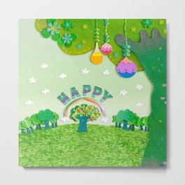 Happy Trolls Metal Print