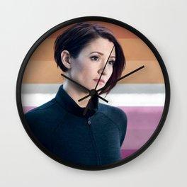 Alex Danvers Wall Clock