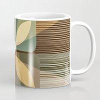 clover Mugs featuring clover by Julia Tomova