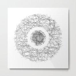 Center of the World - Centre du monde Metal Print