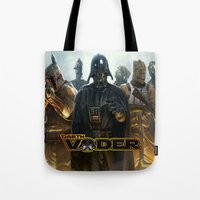 darth vader Tote Bags featuring Darth Vader by store2u