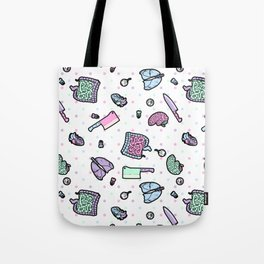 Sweet Yandere (White) Tote Bag