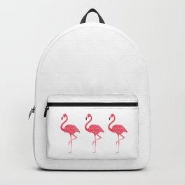 Flamingo tropical dance Backpack