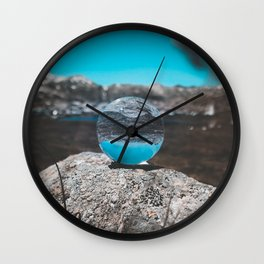 Experience The World Wall Clock