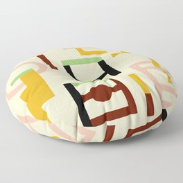 GEOMETRY COLOURFUL Floor Pillow