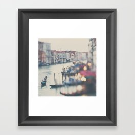winter in Venice ... Framed Art Print