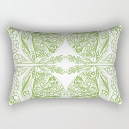 Color of the year doodle Rectangular Pillow