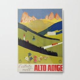 Alto Adige South Tyrol Metal Print