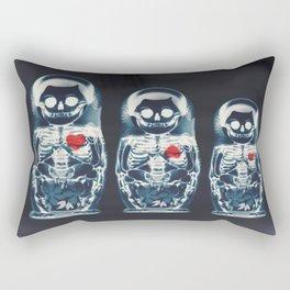 Nesting Doll X-Ray Rectangular Pillow