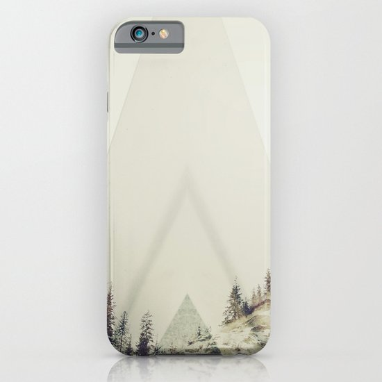 in A cabin in the woods iPhone & iPod Case