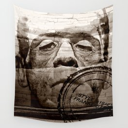 The wall in your head... Wall Tapestry