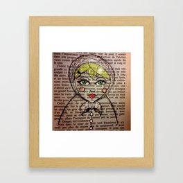 Matrioska number 1 Framed Art Print