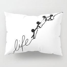 With a little help Pillow Sham